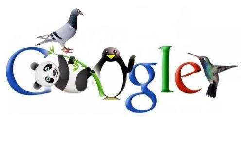 Le bestiaire de Google