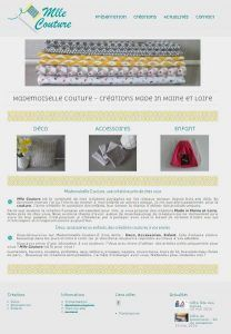 RedactiWest développe Mademoiselle Couture sur WordPress